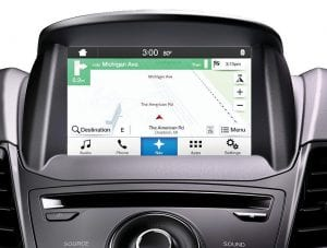 SYNC 3 – the latest Ford communications and entertainment system is standard on the 2016 Fiesta.