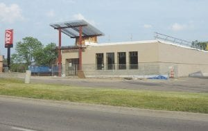 An I-hop restaurant, nearing completion on Miller Road, is among 52 new businesses that moved into the township, remodeled or expanded during the past year.