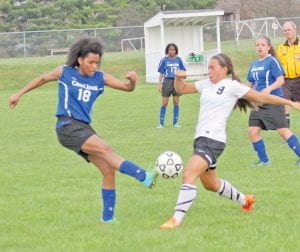 Carman-Ainsworth's Natalia Avery and her teammates were eliminated from district play.