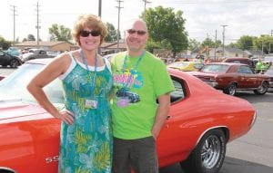 Jeff and Margaret Kato, of Flushing, have brought their 1972 Chevelle to Back to the Bricks every year since its inception, when the tour was by invitation only and took participants from Michigan to New York.