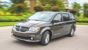 The 2016 Dodge Grand Caravan took second place among minivans in J.D. Power's 2016 U.S. Initial Quality Study.