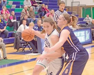 Girls' basketball participation fell for the 10th consecutive year.