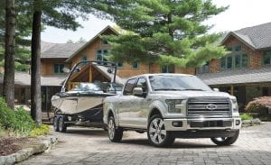 The 2016 Ford F-150 Limited with 3.5L EcoBoost engine.