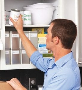 Organizing a pantry can help shoppers save money and make meal time more efficient.