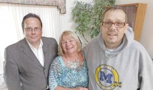 Doug, Bonnie and Keith O'Neal. Keith, founder of the Good Samaritan Network, is recovering from quintuple bypass surgery. His brother, Doug, is reaching out to the community to help with his expenses.