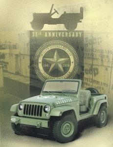 Jeep Celebrates 75th Anniversary With Commemorative Wrangler 75th Salute Concept Vehicle Jeep Wrangler 75th Salute Edition