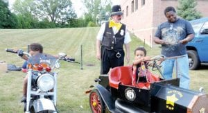 Trying on police gear, run rides and a free bike giveaways were part of the fun for kids attending last year's NNO, which drew the biggest crowd ever.