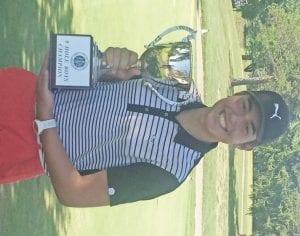 9-hole boys' champ Brendan Silpoch