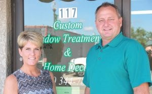 Jennifer and Greg Vanitvelt have been in the blinds and window treatment industry since 2010 and have recently reconfigured their business, Custom Window Treatments & Home Décor to include custom and made-to-order fashions and designs for all styles of homes.