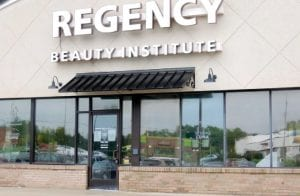 Students at Regency Beauty Institute arrived last Thursday morning to find the door locked and the school permanently closed. Notices posted on the door gave two times for them to return to retrieve their belongings.
