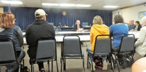 A committee gathered to discuss changing the township's name.