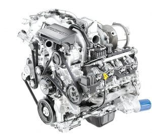 The all-new 2017 Duramax 6.6L turbo diesel features more torque and horsepower and increased strength cylinder block, heads, crankshaft, connecting rods and pistons.