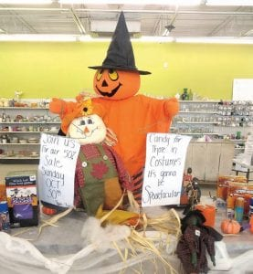 The Goodwill store on Miller Road, aka Ghoul-will, is hosting a Halloween half-off sale and an opportunity to purchase and/or show off your costume.