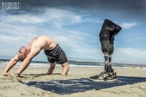 Dan Nevins, a retired U.S. Army sergeant who lost his legs in Iraq, will host a yoga workshop on Nov. 18. The workshop is free but donations will be accepted with 100 percent of the proceeds going to the Wounded Warrior Project