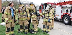 The Flint Township Fire department depends on a staff made up of mostly on-call firefighters to keep the community safe.