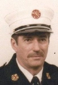 Greg Wright, retired township fire chief, passed away on Dec. 1.