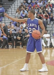 Ja'kavien Lewis, shown here against Grand Blanc Week One, tossed in 13 points against Lapeer at Carman-Ainsworth Tuesday.