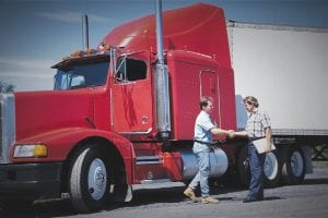 The Baker College 20-week truck driving program allows for each student to complete a minimum 30 hours of lab time and 58 hours of one-student/one-tractor/one-instructor driving on the range and over the road.