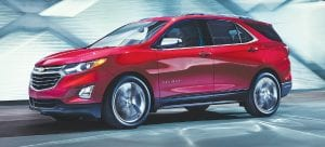 The all-new 2018 Chevrolet Equinox is a fresh and modern SUV sized and designed to meet the needs of the compact SUV customer.