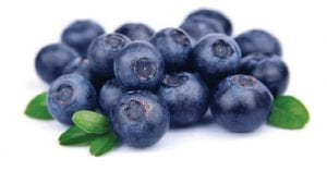 Blueberries are full of flavor and antioxidants.