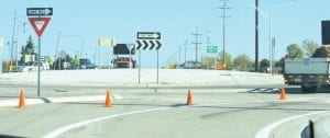Travelers to the General Motors plants and Bishop Airport endured several months of inconvenience while Michigan Department of Transportation crews built a traffic roundabout on Bristol Road near the airport.