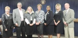 Four new members -a majority – were elected this year to the township Board of Trustees.