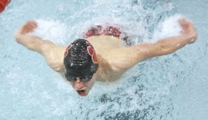 Area high school boys' swim and dive teams will compete at the annual County Meet at Fenton today through Saturday.