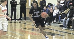Carman-Ainsworth's Destiny Strother continues to lead her team in scoring every game. She had 20 points against Flint Powers last Friday.