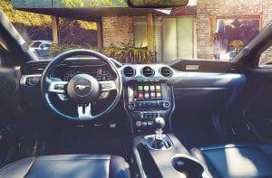 2018 Ford Mustang Interior.