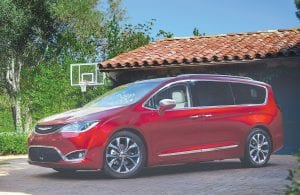 The all-new 2017 Chrysler Pacifica Hybrid