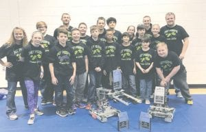 These Carman-Ainsworth middle school team members totally VEXed the competition at two recent regional robotics tournaments.