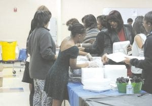 Flint community activist Kenyetta Dotson was guest speaker at the 11th annual CAHS Black History Month Luncheon.