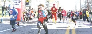 Costumed superheroes of all ages will take to the street for the 7th annual Superhero 5K Run and 1K Family Fun Run.