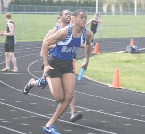 Carman-Ainsworth's Marshall Brooks will participate in individual sprints as well as relay events during the regional meet at Saginaw Heritage.
