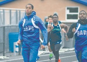 Carman-Ainsworth's Marshall Brooks was part of the relay teams that ran at the state meet last weekend.