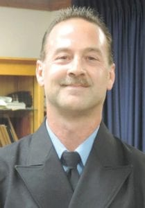 Thomas Stadler, formerly a captain, has been promoted to township fire chief.