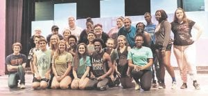 """Students from several area high schools will perform in the hit musical """"Hairspray"""" at CAHS June 22-24."""