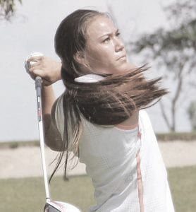 Flushing's Kayla Gerhardt earned a medal at Monday's Flint Jr. Golf Association season opener at the Flint Golf Club.