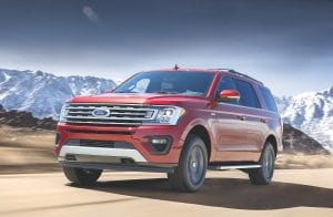 All-new Ford Expedition with new FX4 Off- Road Package adds technology and 4x4 hardware to make this family SUV even more capable on trails and unpaved surfaces.