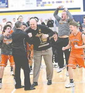 Paul Brieger is moving from athletic director at Flushing to Corunna.