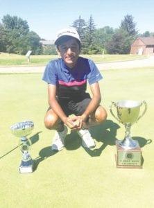 Ranveer Ajimal won the championship flight ofthePhilMickelsongroupwitha5&3win over Sawyer Kochan.