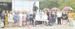Local graduates among recipients