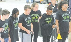 MOPeeps, the robotics teams at Carman- Ainsworth Middle School, who are last year's state champions in VEX Robotics, are continuing their winning ways in this year's competition.