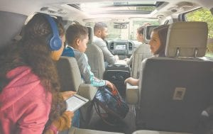 Comfort and connectivity combine for fun family road trips in the all-new Ford Expedition.