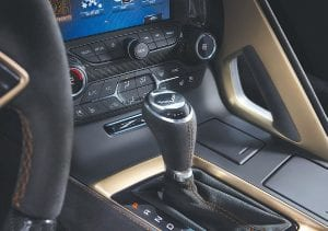 Seven-speed manual and eight-speed paddle-shift automatic transmissions are available with the LT5 engine. It's the first time an automatic transmission has been offered in a ZR1.