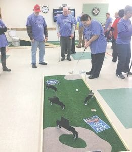 Miniature golf was added to the Senior Winter Games last year and was a huge hit!