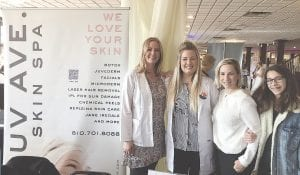Landra Hartman, Brittany Krecek, Tracy Aubuchon and Bella Castro from Rejuv Ave. Spin Spa were ready to meet with brides and their families to talk about ways to make everyone look their best for the big day.