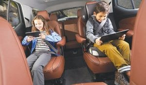 The Harris Poll survey commissioned by Chevrolet found that spending time with family ranks at parents' #1 favorite thing about road trips.