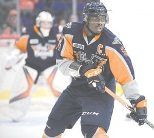 Flint's Jalen Smereck has been called up to play for the AHL's Tuscon Roadrunners.