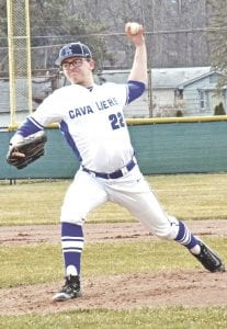 Carman-Ainsworth's Chase Matusik takes the mound on March 28.